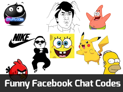 Funny Facebook Chat Emoticons Codes | Download Softwares, Hacking